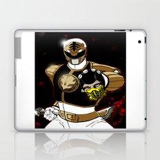 White Ranger Vs. Scorpion Laptop & iPad Skin
