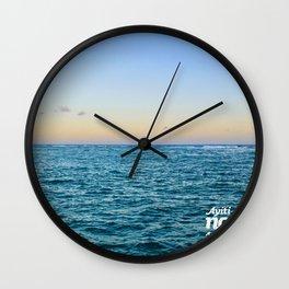 Ayiti Se Nou - Beach Sunset Wall Clock
