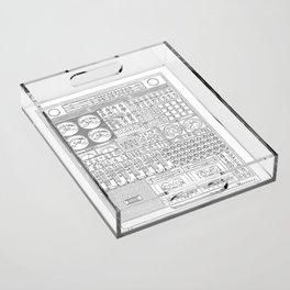 Music Machine Acrylic Tray