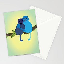 Monkey love Stationery Cards