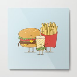 family meal Metal Print