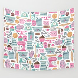 Baking Cakes Wall Tapestry