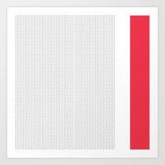 Dotted 185U Art Print