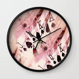 Play The Hand Wall Clock