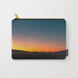 Love & a Sunset Carry-All Pouch