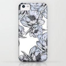 floating flowers iPhone 5c Slim Case