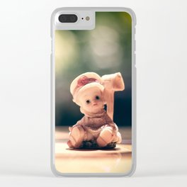 creppy doll Clear iPhone Case