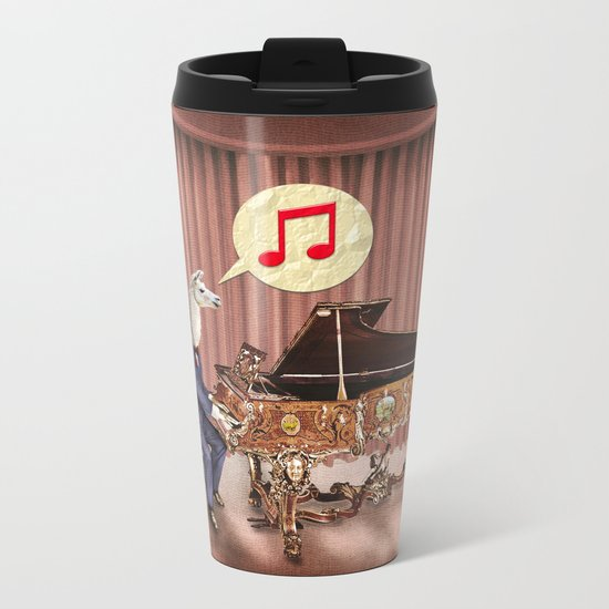 LA-LA-LA-Llama! Metal Travel Mug
