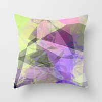 polygon Throw Pillows featuring Polygon by Fine2art