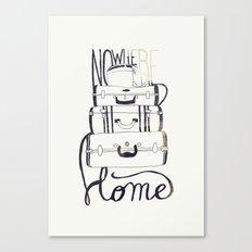 Nowhere Home Canvas Print