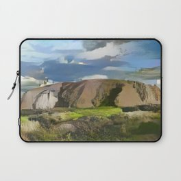 Ayers Rock in the Colors of Dover Laptop Sleeve