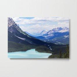 Peyto Lake, Alberta Metal Print