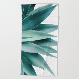 Agave fringe Beach Towel