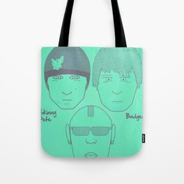 Breaking Bad - Faces - The Crew Tote Bag