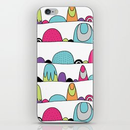 Mid Century Patterns and Illustration iPhone Skin