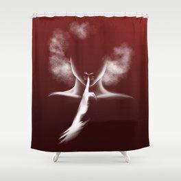 Femme Fatale - Afro Woman Shower Curtain