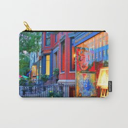 BOSTON , MA . USA . Gallery . Art Carry-All Pouch