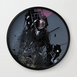 Galactic Star Corp. Ad Wall Clock