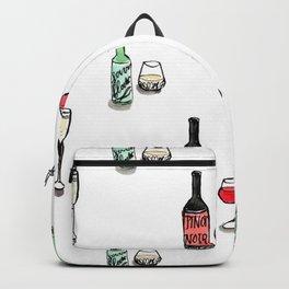 #DrinkWineDay Pattern Backpack