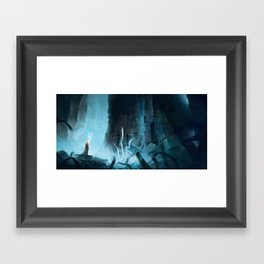 Pilgrim of Ruin Framed Art Print