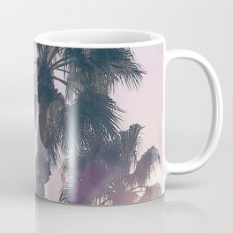 Palm Tree Art Print {2 of 3} | Magenta Pastels Topical Beach Plant Nature Vacation Sun Vibes Artwork Coffee Mug