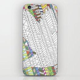 Mosaic Bird iPhone Skin