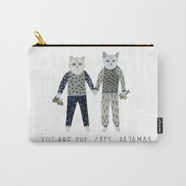 You are the Cat's Pajamas Carry-All Pouch