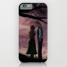 In The Gloaming: (book cover art) iPhone Case
