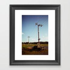 Rural Power Framed Art Print