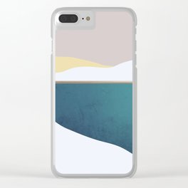 Abstract 32 Clear iPhone Case