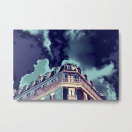 Parisian Mosaic - Piece 13 - Drama  Metal Print
