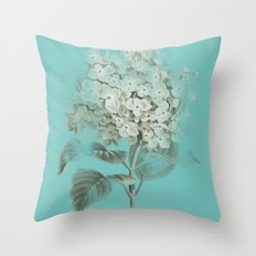 HYDRANGEA 3 Throw Pillow