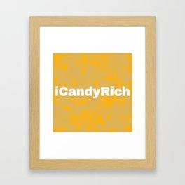 iCandyRich Colour Palette Mix Framed Art Print