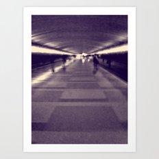 Into the Light. Art Print