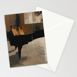 Grand Piano Artwork Stationery Cards