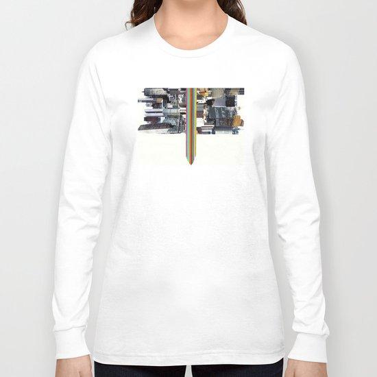 The Invisible Cities (dedicated to Italo Calvino) Long Sleeve T-shirt