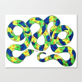 Twisty Snek Canvas Print