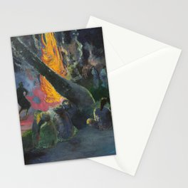 Upa Upa (The Fire Dance) by Paul Gauguin Stationery Cards