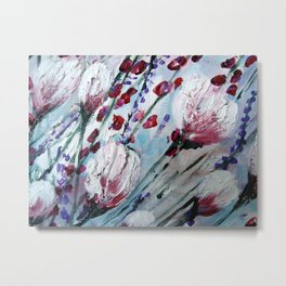Rhapsody in pink and blue Metal Print