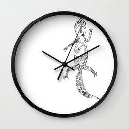 Rex Gecko Wall Clock