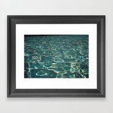 DH waters Framed Art Print