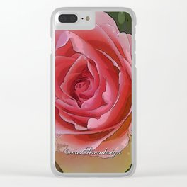 You are my Valentine Clear iPhone Case