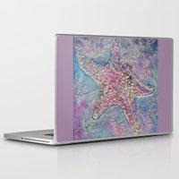 starfish Laptop & iPad Skins featuring Starfish by Christine's heART