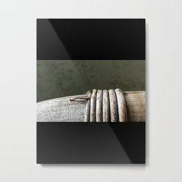 Inch worm Metal Print