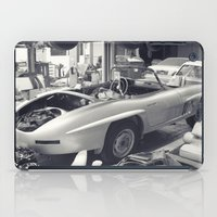 mercedes iPad Cases featuring mercedes-benz 300SL by Sural Mustafa