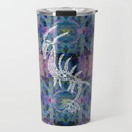 Frankie Floral Leafy Sea Dragon Travel Mug