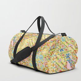 Sunshine Crazy Quilt (printed) Duffle Bag