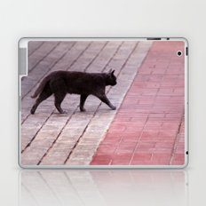 Cat Walking  6589 Laptop & iPad Skin