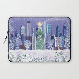 Christmas Park Laptop Sleeve
