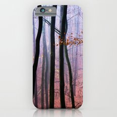 Foggy fall forest photography Slim Case iPhone 6s